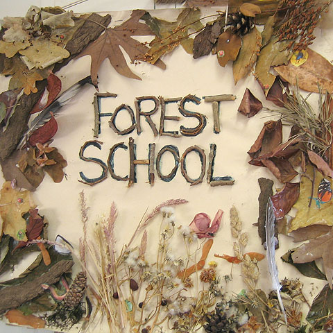 Forest school parent workshop year 1 and 3